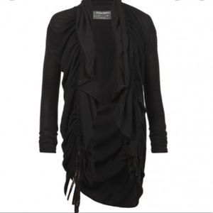 All Saints Plume Cardigan Ruched long
